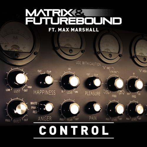 Matrix & Futurebound – Control (Ft. Max Marshall) Release Cover