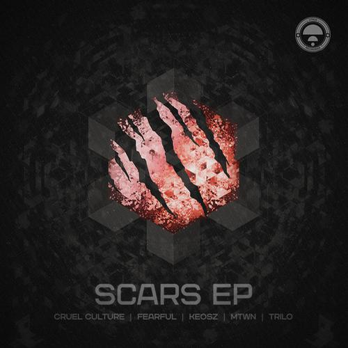 Fearful & Keosz  – Scars ft. BlackLouis Release Cover