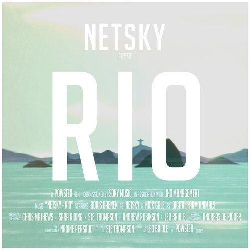 Netsky feat. Digital Farm Animals – Rio Release Cover