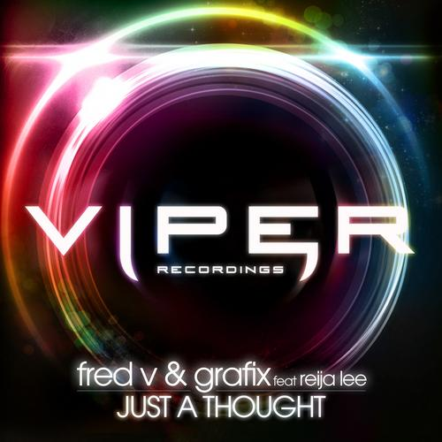 Fred V & Grafix – Just A Thought (Feat. Reija Lee) Release Cover