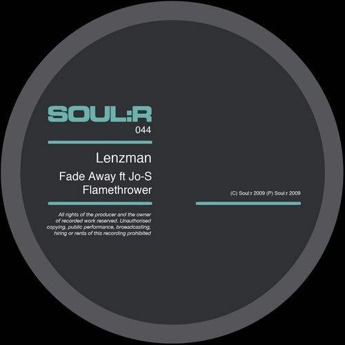 Lenzman feat. Jo-S – Fade Away Release Cover