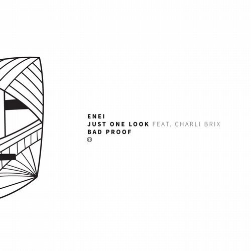 Enei – Just One Look (feat. Charli Brix) Release Cover